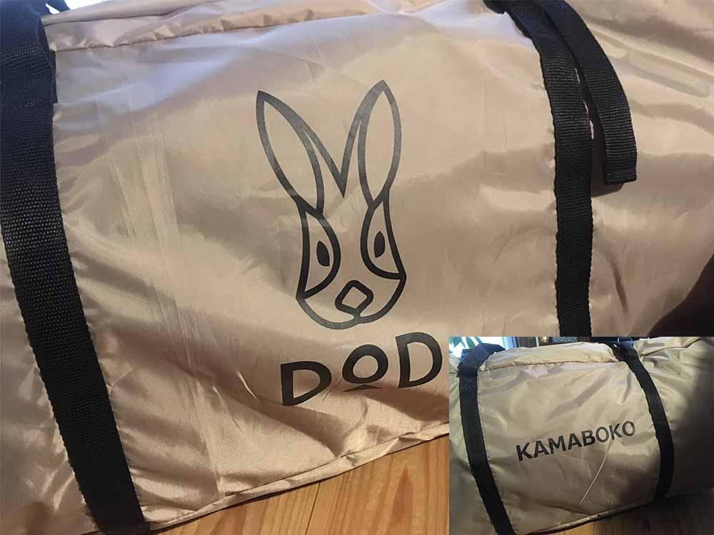 【キャンプ】DODのKAMABOKOテント!初心者やファミリーキャンプにオススメです!