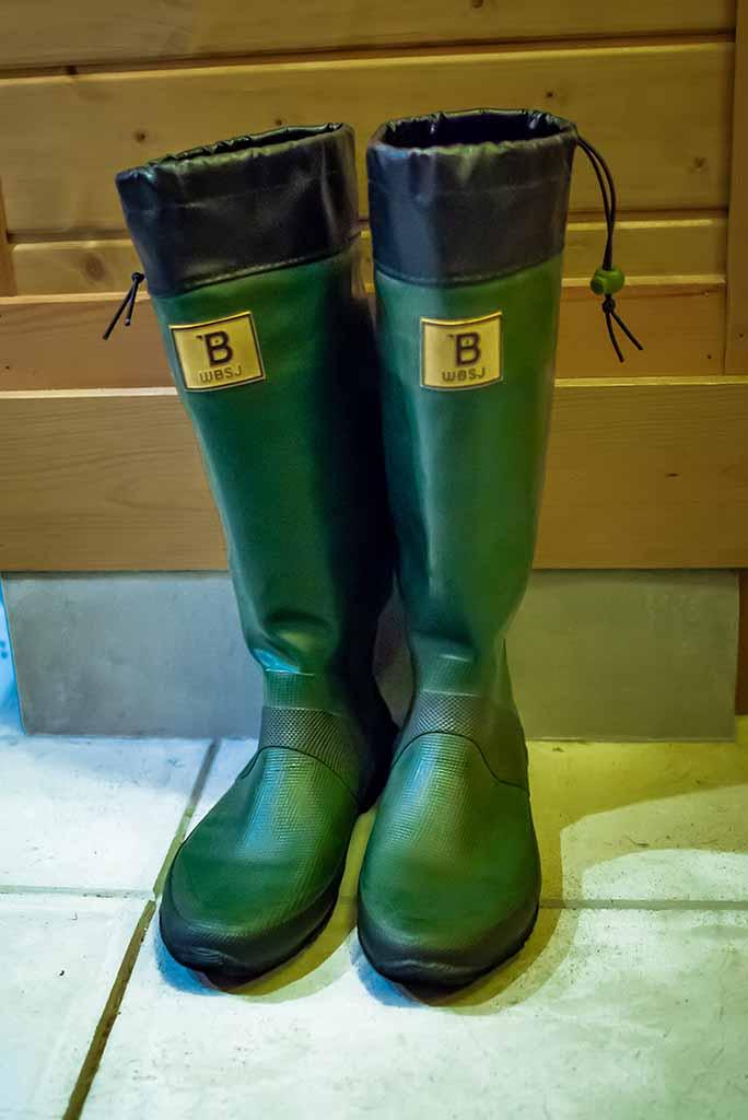 【アウトドア】年中使える!日本野鳥の会バードウォッチング長靴