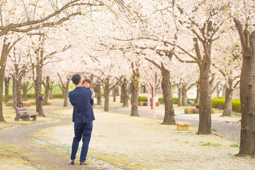 桜ポートレート 桜堤公園