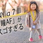 【α7ⅲのリアルタイム瞳AF】パパ・ママはAF性能でカメラを選べ
